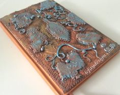 Dragon Baby  Polymer Clay Journal Polymer Clay Book by leFayDesign