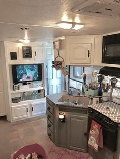 Stunning Makeover Photo credit to Brooke Seaman - FB camper & rv Reno page.