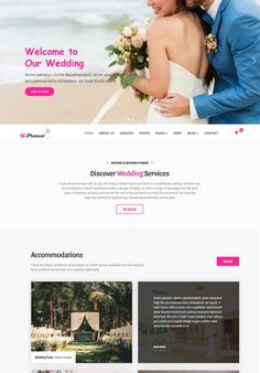 Wedding & Wedding Planner is suitable for business purposes such as wedding agency, photography wedding portfolio page, wedding store of wedding gowns, Security Logo, Online Security, Best Website Templates, Form Builder, Joomla Templates, Welcome To Our Wedding, Wedding Store, Change Image, Social Icons