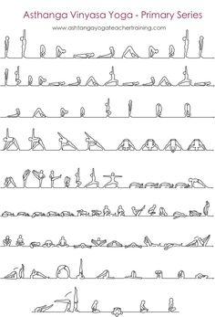 The Ashtanga Yoga Primary Series - Ashtanga Vinyasa Yoga en Español - Formación de Profesores en Ashtanga Yoga Certificado por Yoga Alliance...