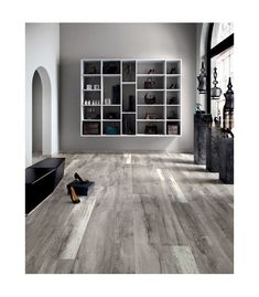 Ariana Legend Grey 8 X 48 Porcelain Wood Look Tile Find This Pin And More On Floor Tiles