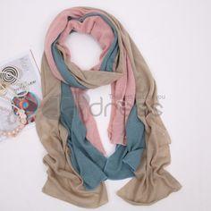 Ladies Long Hair line warm scarf