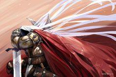 Tyrael (Diablo drawn by Anry 3d Wallpaper, Wallpaper Backgrounds, Wallpapers, Diablo Ii, Fanart, Angel Warrior, Heroes Of The Storm, Angel Art, Paladin
