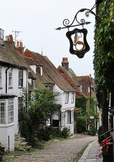 Rye, Mermaid Street, East Sussex, England. Our tips for 25 fun things to do in England: http://www.europealacarte.co.uk/blog/2011/08/18/what-to-do-england/