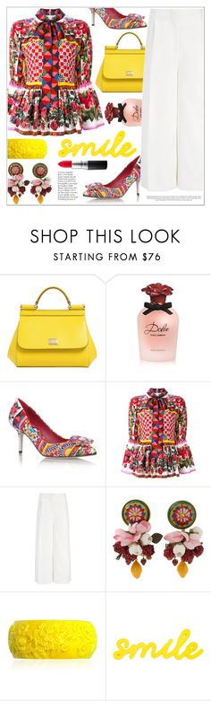 """You Can Be The Boss"" by teryblueberry ❤ liked on Polyvore featuring Dolce&Gabbana, Joseph, Mariah Rovery and MAC Cosmetics"
