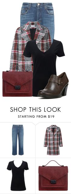 """""""Untitled #20534"""" by nanette-253 ❤ liked on Polyvore featuring J Brand, Carven, Loeffler Randall and Naturalizer"""