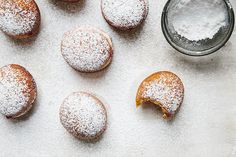 Cranberry-Ginger Jam Sufganiyot from @Food52