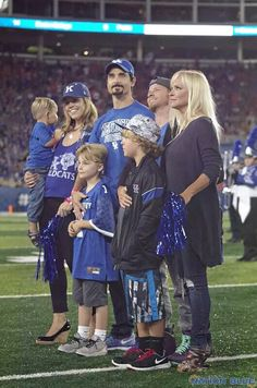 Nothing better than seeing the Kentucky's finest cousins in blue! Thank you University of Kentucky, University of Kentucky Wildcat Marching Band, University of Kentucky Football! University Of Kentucky Football, Backstreet Boys Lyrics, Brian Littrell, Kevin Richardson, Family Love, New Pictures, My Boys, Dna, Boy Bands