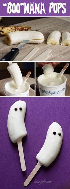 Collations santé pour l'halloween - Wooloo