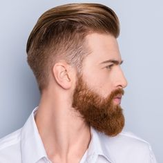 best hairstyle with beard