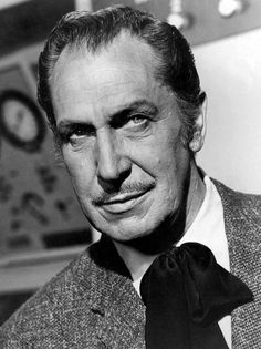 Legendary horror film actor Vincent Price has since passed away in real life, but as an actor, he was no stranger to death. Description from imgur.com. I searched for this on bing.com/images