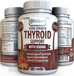 Thyroid Support Complex Supplement (120 Caps)