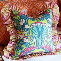 Click Image Above To Buy: Ada Floral Decorative Throw Pillow