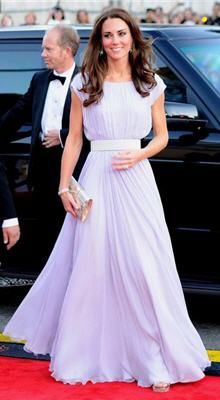 Kate Middleton In Alexander Mcqueen Gown At Bafta Gala Wedding Style