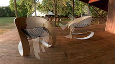 Carnaval Chair by Guido Lanari, via Behance