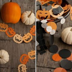 13 Totally Wicked DIY Halloween Garlands via Brit + Co