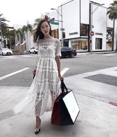 Gingham ruffles, different shades of pink, polka dots, wrap dresses, white dresses... the list of super cute summer trend goes on. Here are 30 looks, one for each day in June, to be inspired by the...