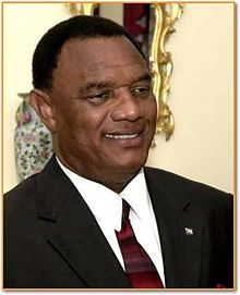 Bahamas: Prime Minister Perry Christie