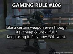My younger brother was playing splitscreen with my friend on Black ops, trying to use a one hit shotgun WAY out of it's own range <<< Yeah! Video Game Logic, Video Games Funny, Funny Games, Gaming Rules, Gaming Tips, Gamer Humor, Gamers, Fandoms, Mass Effect