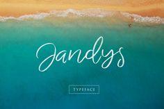 Free Design Data: Download Jandys Elegant Style Font Free