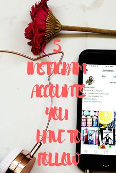 Check out my favorite Instagram accounts for inspiration!
