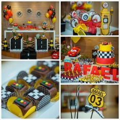 57 Ideas disney cars birthday party ideas cake website for 2019 Lightning Mcqueen Party, Race Car Birthday, Race Car Party, Cake Birthday, Car Themed Parties, Cars Birthday Parties, Birthday Ideas, Disney Cars Party, Disney Cars Birthday