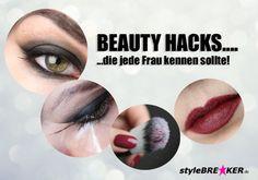[Beautycheck] Beauty Hacks die jede Frau kennen sollte! Eyeliner, Lippenstift, Pinsel, Kajal... Das Handwerkszeug für viele Frauen ;-) Wir haben heute ein paar Tipps für euch, wie ihr dieses richtig einsetzt und mit ein paar kleinen Tricks noch viel schönere Effekte erzielen könnt. https://www.stylebreaker.de/blog/[Beautycheck]-Beauty-Hacks-die-jede-Frau-kennen-sollte/b-182/