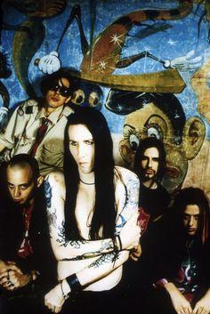 Madonna Wayne Gacy, Daisy Berkowitz, Marilyn Manson, Sara Lee Lucas and Twiggy Ramirez