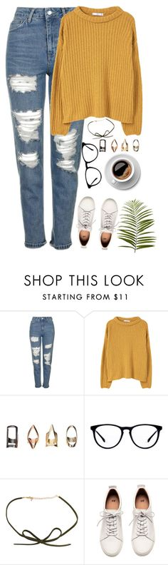 """Elvis//Annie Eve"" by thelonelyheartsclub ❤ liked on Polyvore featuring Topshop, MANGO, H&M and Pier 1 Imports"