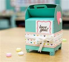 Valentine's 3D Mailboxes Digital Set