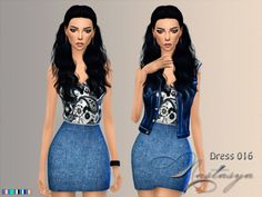 Clothing: Dress 016 from Nastas`ya Female Clothing, Sims 4 Clothing, Clothes For Women, Dresses, Girl Clothing, Outerwear Women, Vestidos, Dress, Gown