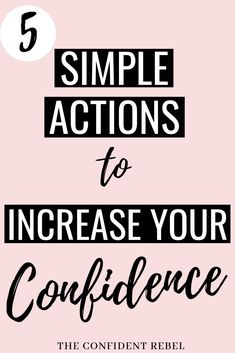 Confidence is the key to any success in life. So how do we gain it? We build it up little by little, starting with these 5 beginner steps to improving your confidence levels. Building Self Confidence, Self Confidence Tips, Confidence Quotes, How To Improve Confidence, Confidence Building Activities, Gaining Confidence, Self Development, Personal Development, Hope Quotes