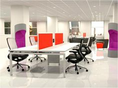 @KI Furniture's #ConnectionZone collection - perfect for a collaborative corporate environment. #design