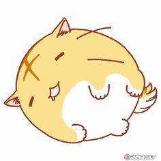 Lazy Cat Anime