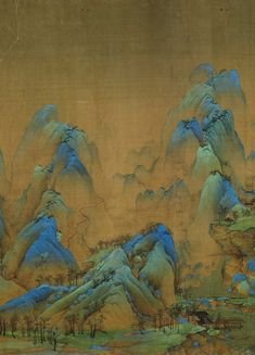 Korean Painting, Chinese Painting, Chinese Art, Art Inspo, Bel Art, Art Through The Ages, Japan Painting, Traditional Japanese Art, Art Asiatique