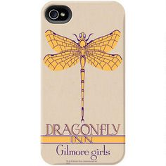 Exclusively ours, this phone case features the Dragonfly Inn logo from Gilmore Girls and will protect your iPhone or Galaxy in style.