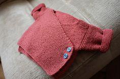 baby cardigan (yarn: anny blatt baby merinos)