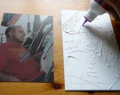 Making a Glue Collagraph Print - Belinda Del Pesco Collagraph Printmaking, Joan Miro Paintings, Tampons, Art Classroom, Art Techniques, Art Tutorials, Creative Art, Art Lessons, Lino Prints