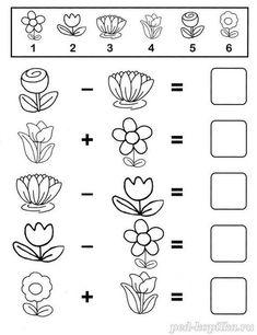 Al wat moeilijker. Numbers Preschool, Preschool Worksheets, Preschool Learning, Kindergarten Math, Preschool Activities, Teaching Aids, Teaching Math, Math For Kids, Fun Math