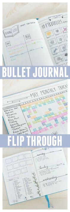 My first bullet journal flip through!