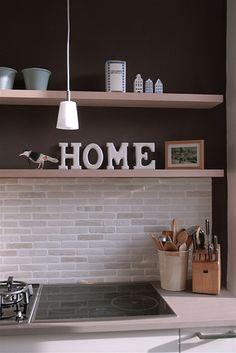 Easy DIY Kitchen Backsplash ideas to bring new life to your kitchen Cute Kitchen, Kitchen Decor, Kitchen Ideas, Modern Furniture, Home Furniture, Houses In Germany, Dining Room Design, Home Renovation, Home Decor Inspiration