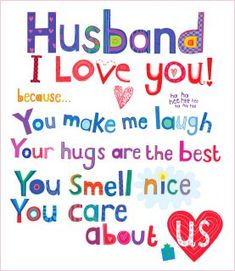 lovely birthday cards for husband - Buscar con Google                                                                                                                                                     More