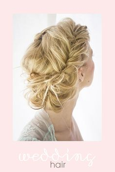 This is probably my favorite.  It's not a traditional looking braid, but it's so romantic and glamorous.