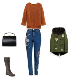 """Untitled #5733"" by explorer-14576312872 ❤ liked on Polyvore featuring Wild Diva and Topshop"