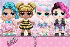 Painel de Festa Redondo Tecido Casinha Boneca Lol no Minnie Mouse Drawing, Lol Doll Cake, Roblox Funny, Valentine Baskets, Flowery Wallpaper, Paper Dolls Printable, Digital Art Girl, Ideas Para Fiestas, Lol Dolls