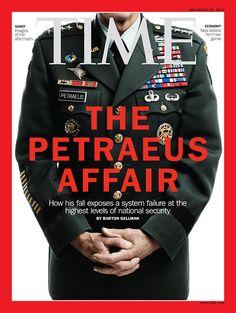 November 26, 2012: The Petraeus Affair. Read the cover story here: http://ti.me/QnJLLV