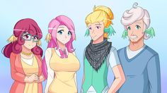 Flutter Family (Pic of the week S6E11) by JonFawkes