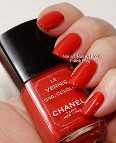 Chanel Corail - Coral swatches - vintage