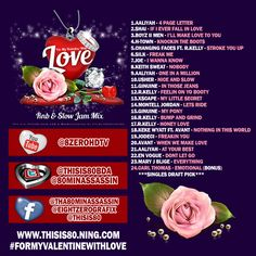 valentine r&b mixtape