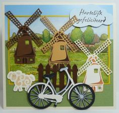 Craft Projects, Projects To Try, Bicycle Cards, Marianne Design, New Crafts, Tole Painting, Punch Art, Scrapbooking Layouts, Diy Cards
